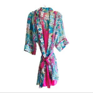 Delicates two piece nighty and robe size medium